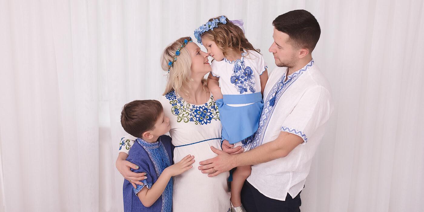 Семейная фотосессия в Днепре
